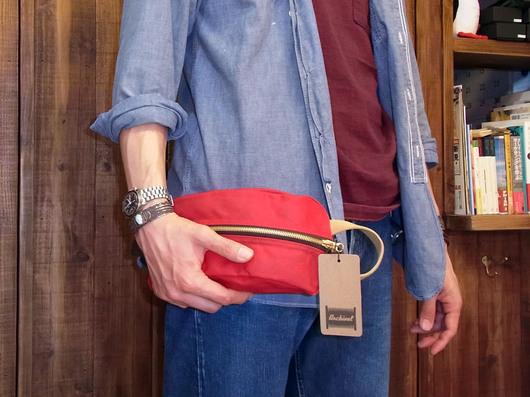 ちょっと手がデカすぎてバッグの大きさが…(汗)